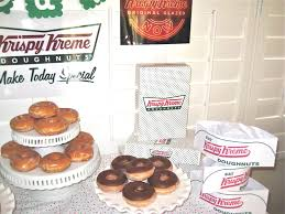 Krispy Kreme Halloween Donuts Calories by Creative Party Ideas By Cheryl Mother U0027s Day Krispy Kreme Donut Party