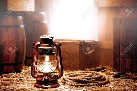 Antique Kerosene Lanterns Value by Old Kerosene Lantern Lamp And Aged With Shipping Crates