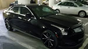 2014 Cadillac ATS on 19 s