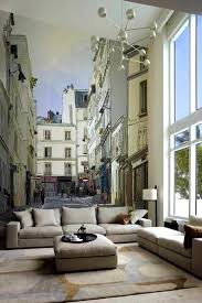 Wall Mural Decals Canada by Bedroom Picturesque Backdrop Seamless Stereoscopic Video Wall