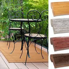 bambusteppich bambusmatte holzmatte naturfaser 100 bambus teppich beige braun ebay