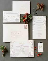 34 Unexpected Winter Wedding Invitations