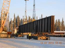 100 Carlile Trucking Trucks Hauling Massive Girders For Bridge Project Likely To Cause