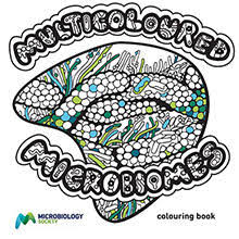 Have You Ever Fancied Colouring In Candida Or Shading Pseudomonas If So The Microbiology Societys New Multicoloured Microbiomes Book
