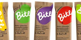 BITE Cute PackagingCoffee PackagingFood PackagingPackage DesignHealthy Snack BarsEnergy