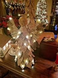 Image Is Loading Pottery Barn Lighted Birch Angel Christmas Tree Topper