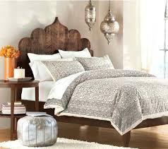 Bohemian Headboard Medium Size Of Bedroom Ideas White Fur