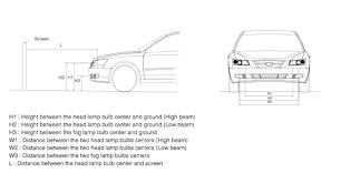 2005 hyundai sonata headlight adjustment questions with