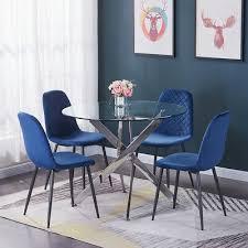 2er 4er 6er grau samt stuhl esszimmerstühle küchen