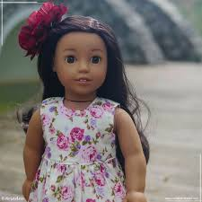 Rose Garden American Girl Doll Dresses Collection