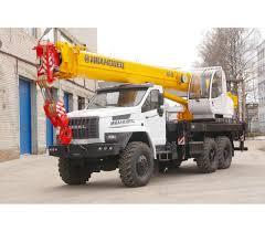 100 Truck Crane Brands AVTOKRAN AVTOKRAN TRUCK CRANE KC457172P BAUMA WORLD