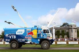 Kamaz Dakar Truck To Goodwood Festival Of Speed
