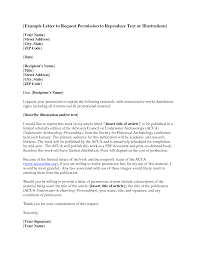 Permission Letter Template