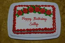 Happy Birthday Sally CakeCentral