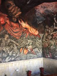 mural painted by jose clemente orozco picture of palacio de
