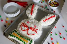 Make with the Kids Easter Bunny Cake Shipt