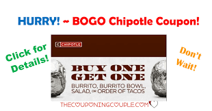 Chipotle Halloween Deal 2014 by Hurry Get The Bogo Chipotle Coupon Rare Coupon
