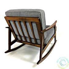 Restored Mid Century Modern Danish 1950's Walnut Rocker MCM Lounge ...