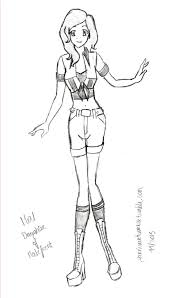 Disney Descendants Mal Coloring Pages Evie