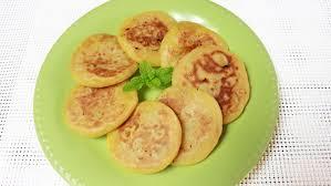 Easy Healthy Pumpkin Pancake Recipe by Chinese Pumpkin Banana Pancakes 糯米南瓜饼 Youtube