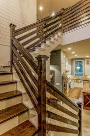 Blue Contemporary Country Farmhouse With Reclaimed Wood | Wood ... Contemporary Railings Stainless Steel Cable Hudson Candlelight Homes Staircase The Views In South Best 25 Modern Stair Railing Ideas On Pinterest Stair Metal Sculpture Railings Railing Art With Custom Banister Elegant Black Gloss Acrylic Step Foot Nautical Inspired Home Decor Creatice Staircase Designs For Terrace Cases Glass Balustrade Stairs Chicago Design Interior Railingscomfortable