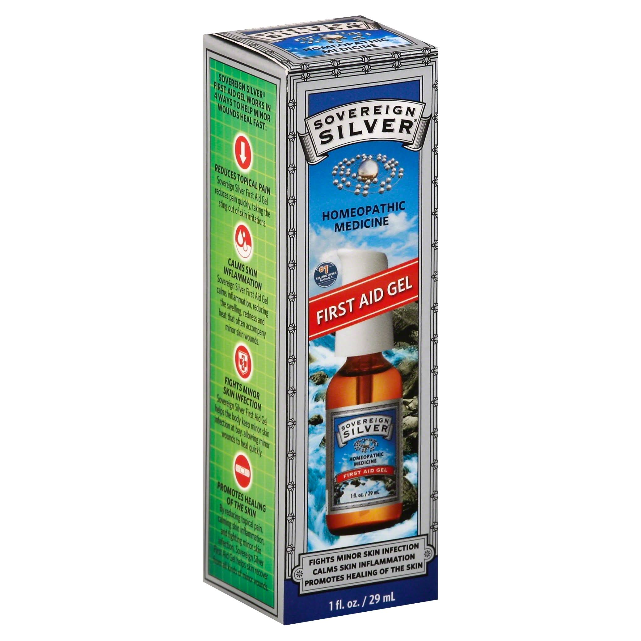 Sovereign Silver First Aid Gel - 29ml