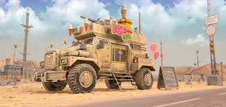 AICT-1 Armored Ice Cream Truck - Visual Effects Project - The Rookies