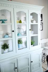 Breakfront Vs China Cabinet by Hutch Behr Painted Hutch And Aqua