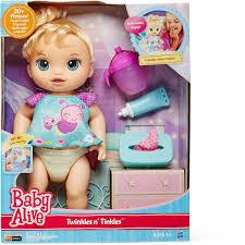 Baby Alive Twinkles N Tinkles Blonde Assorted BIG W