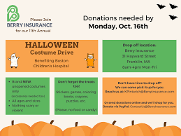 Halloween Childrens Books 2017 by Franklin Matters Berry Insurance 11th Annual Halloween Costume Drive