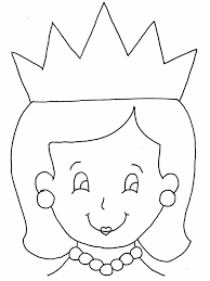 Queen Colouring Page