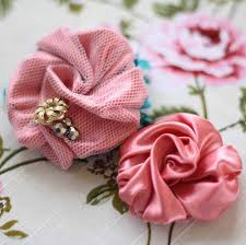 How To Make A Fabric Flower For Bouquets