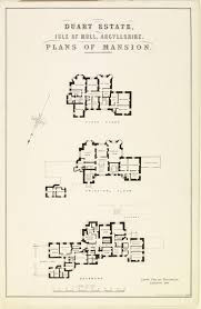 Torosay Castle Floor Plans Mull Duart Castle