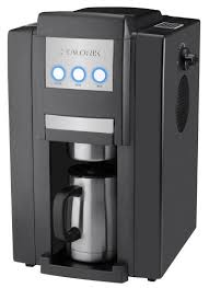 Kalorik CCG 23785 Magic Bean 750 Watt Personal 4 Cup Automatic Drip Coffeemaker With Burr Grinder