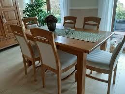 esszimmer tisch stühle landhaus