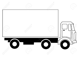 100 Delivery Truck Clipart Black And White Great Free Clipart