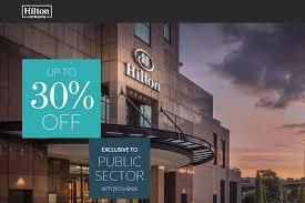 Hilton Hhonors Diamond Desk Uk by Hilton Public Sector 30 Off Weekend Bed U0026 Breakfast Leisure Rate
