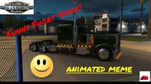 Meme In Animation | Funny Short Video | American Truck Simulator ...
