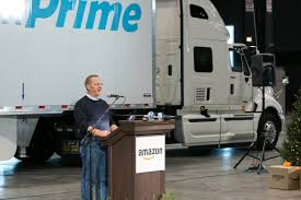 Amazon Ready To Shake Up Shipping Amazons New Delivery Program Not Expected To Hurt Fedex Ups Cnet Amazon Delivery Fail Amzl Drives In Yard Then Amazonfresh Rolls Into San Diego The Uniontribune Grocery Business Quietly Expands Parts Of New Putting Fedex Out Business Start Shipping Company Adds Tool Its Own Truck Trailers Chicago Tribune Threat Tries Its Own Deliveries Wsj Tasure Truck Is Coming Whole Foods Parking Lots Eater Amazoncom Postal Service Kids Toy Toys Games Has Changed The Way You Shop For Food Consumer Reports Prime Members Now Have Access Car Service Will Kill