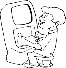 Trend Video Game Coloring Pages 35 About Remodel Line Drawings With