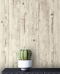 newroom vliestapete beige tapete modern holz brett grau holztapete holzwand naturholz rustikal landhaus für wohnzimmer schlafzimmer küche