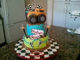 100 Monster Truck Cake Pan 3d
