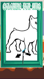 Puppy Dog Coloring Book All Pages Free For Kids On The App Store
