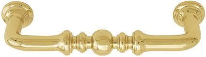Emtek Crystal Cabinet Pulls by Emtek Spindle Brass Cabinet Pull Shop Cabinet Hardware At