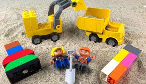 Lego Duplo Construction Toys Treasure Hunt In The Sand With The ... Lego Dump Truck And Excavator Toy Playset For Children Duplo We Liked Garbage Truck 60118 So Much We Had To Get Amazoncom Lego Legoville Garbage 5637 Toys Games Large Playground Brick Box Big Dreams Duplo Disney Pixar Story 3 Set 5691 Alien Search Results Shop Trucks Bulldozer Building Blocks Review Youtube Tow 6146 Ville 2009 Bricksfirst My First Cstruction Site Walmartcom 10816 Cars At John Lewis