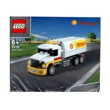 Kelebihan LEGO 40196 The New Shell V-Power : Shell Tanker Mainan ...