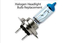 halogen headlight bulb replacement