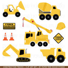 Construction Trucks Clip Art - Free Clip Art - Clipart Bay