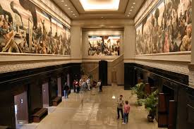 Coit Tower Murals Images by Thomas Hart Benton Mural At The Missouri State Capitol I First