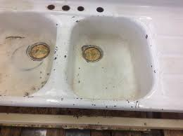 Refinish Youngstown Kitchen Sink by Reporcelain Refinish Steel Sinks Stoves And Other Vintage Parts